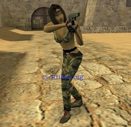 Guerilla(девушка). Категория. Раздел. Counter Strike 1.6. Добавил
